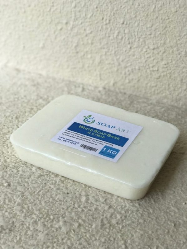 white soap base